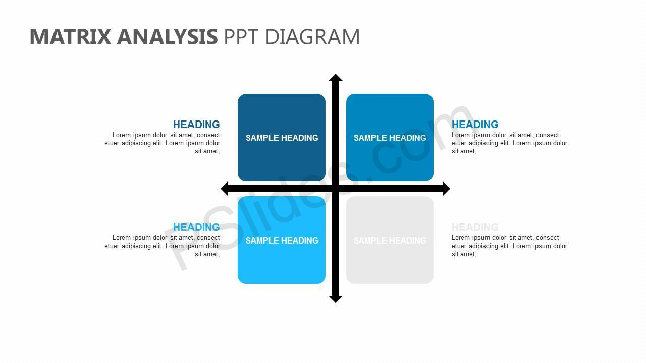 Matrix-Analysis-PPT-Diagram-Slide1