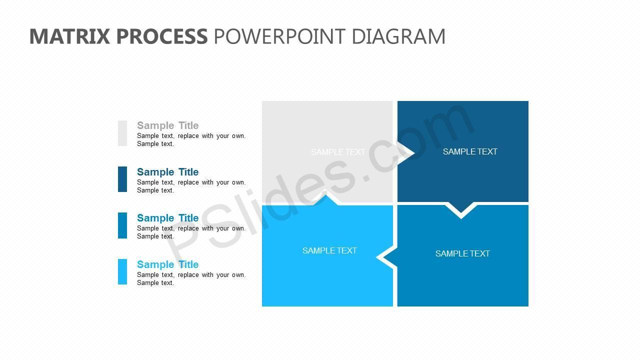 Matrix-Process-PowerPoint-Diagram-Slide1