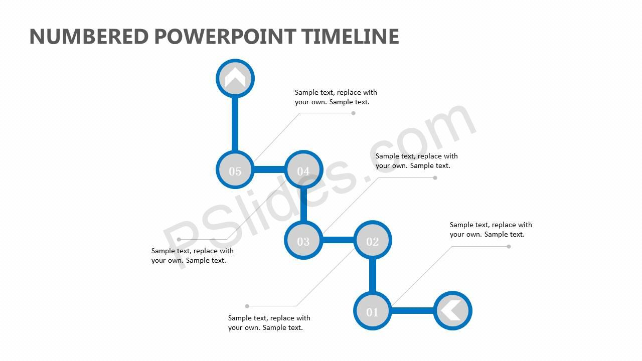 Numbered-PowerPoint-Timeline-Slide1