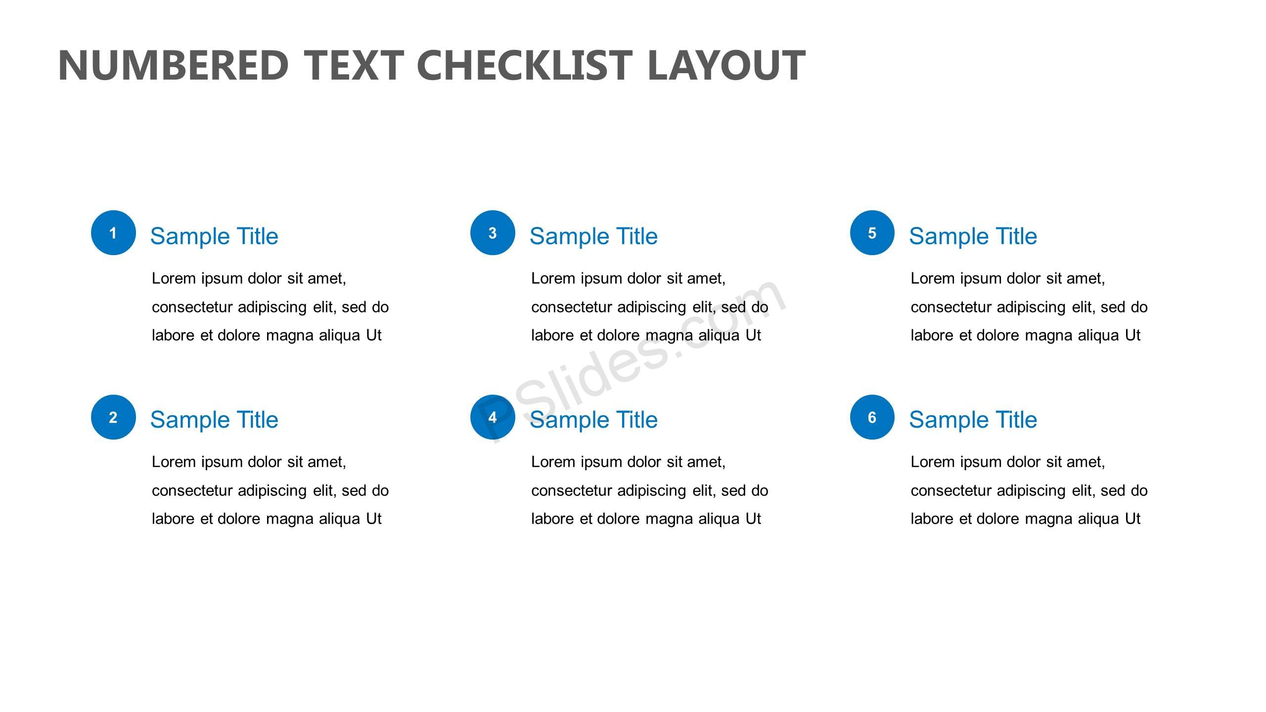 Numbered-Text-Checklist-Layout-Slide1
