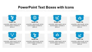 PowerPoint Text Boxes with Icons