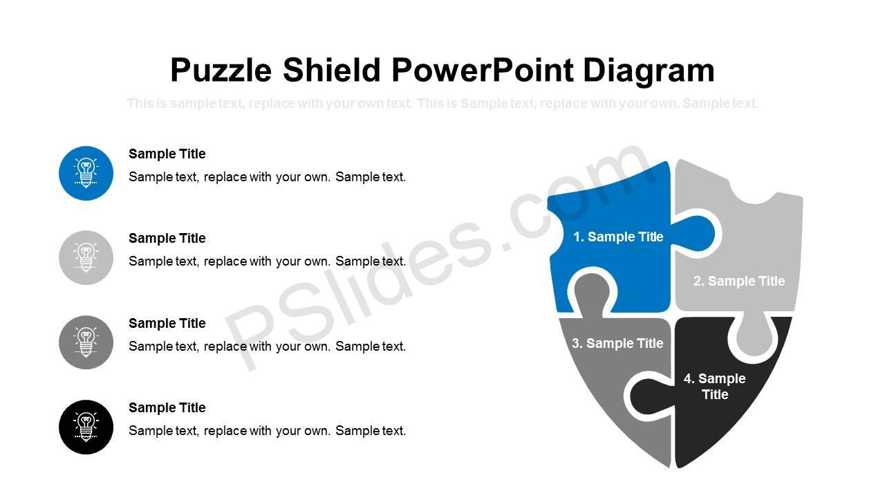 Puzzle-Shield-PowerPoint-Diagram-Slide1