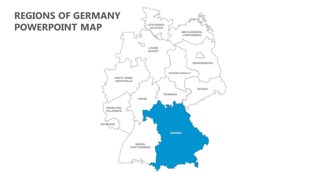 Germany |Germany Regions Graph Chart