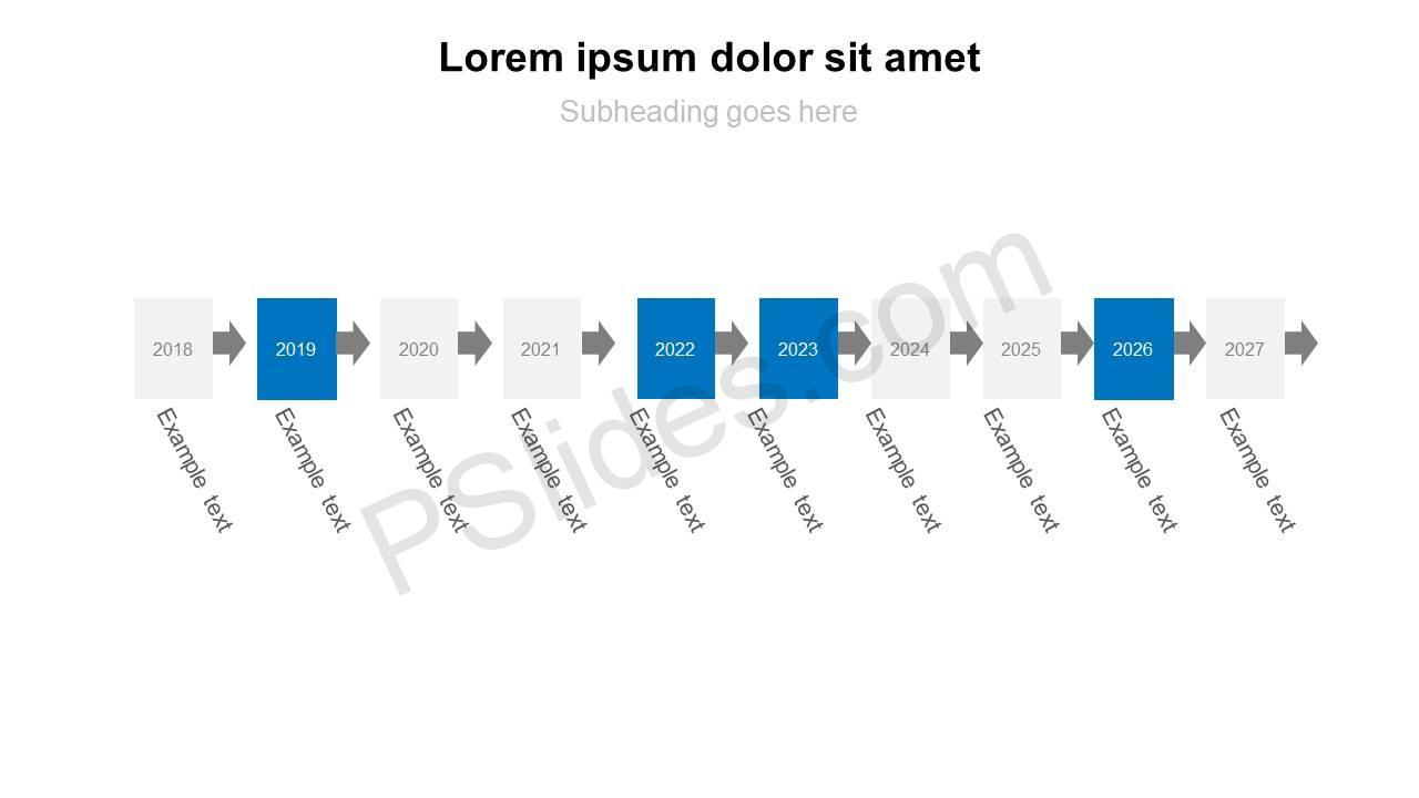 10-Step-PowerPoint-Timeline-Slide1