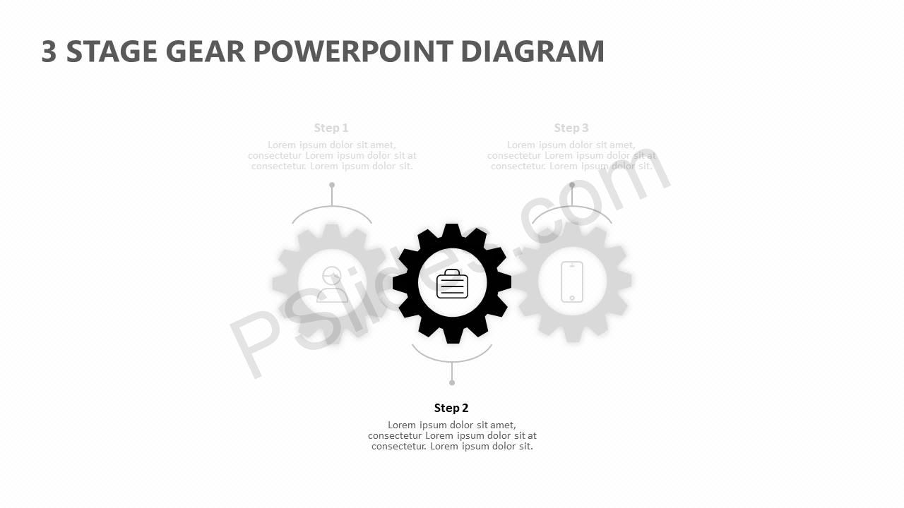 3-Stage-Gear-PowerPoint-Diagram-Slide2