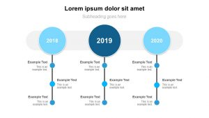3 Year PowerPoint Timeline