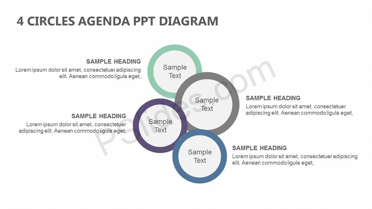4-Circles-Agenda-PowerPoint-Diagram-Slide1
