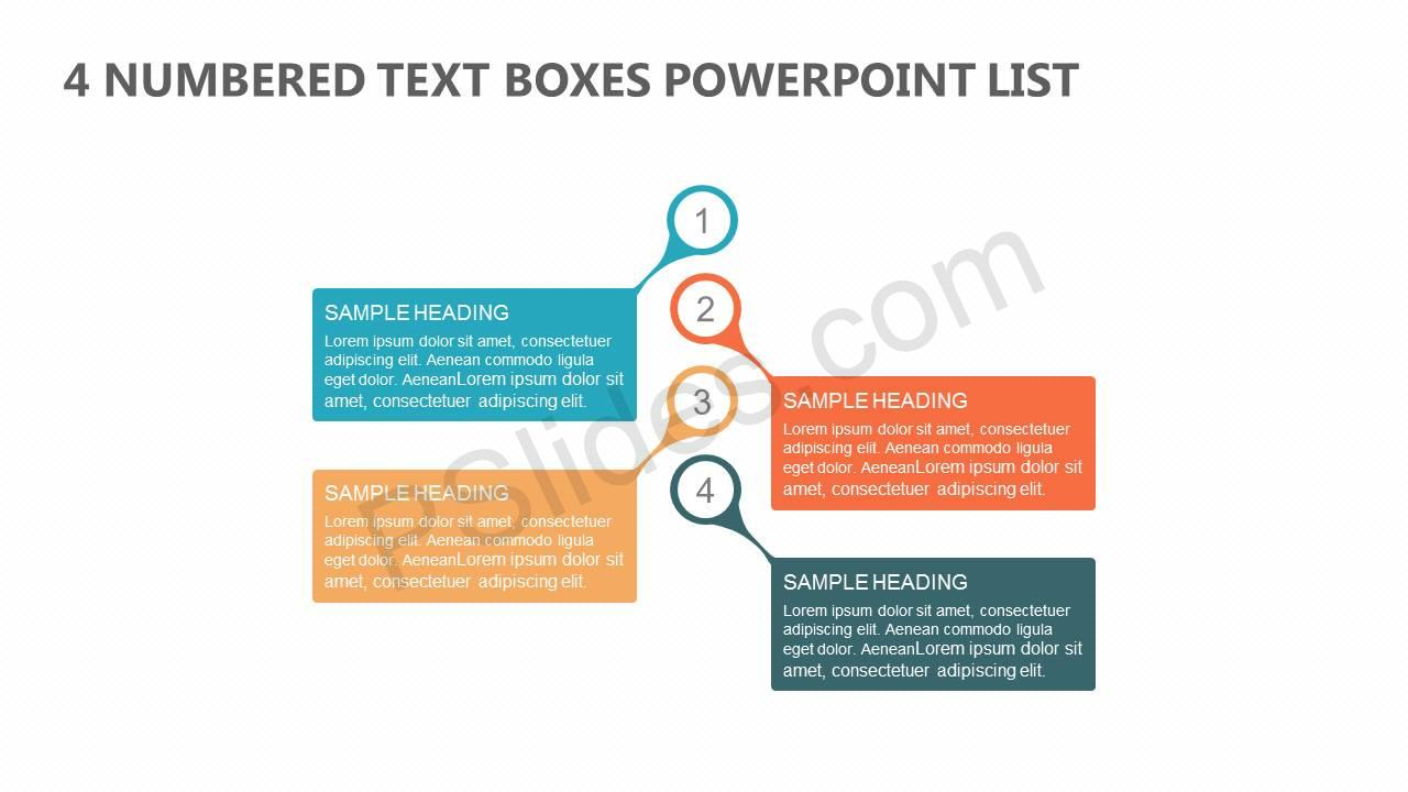 4-Numbered-Text-Boxes-PowerPoint-List-Slide1