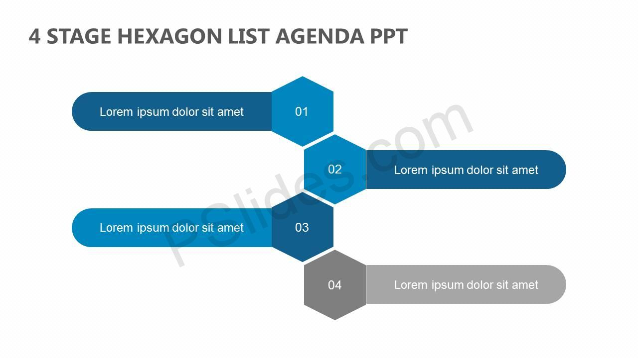 4-Stage-Hexagon-List-Agenda-PPT-Slide1