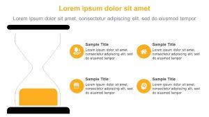 Egg Timer PowerPoint Diagram