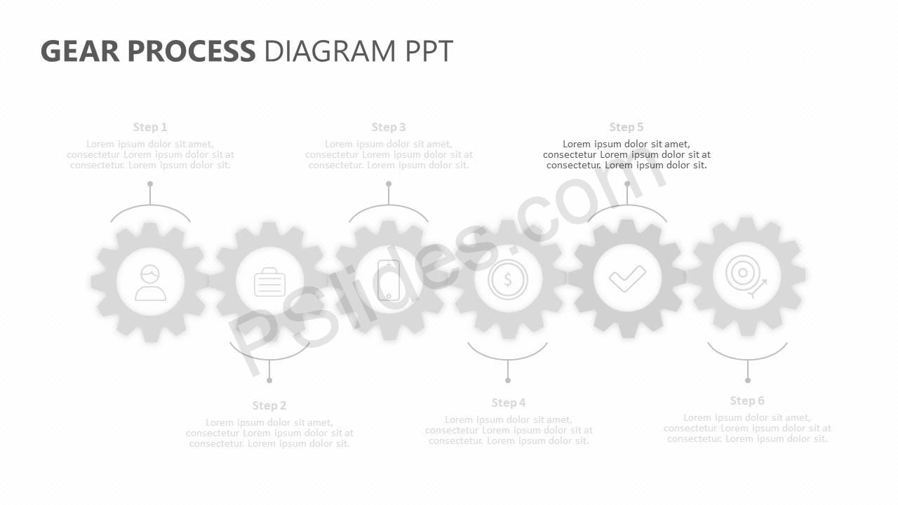 Gear-Process-Diagram-PPT-Slide2
