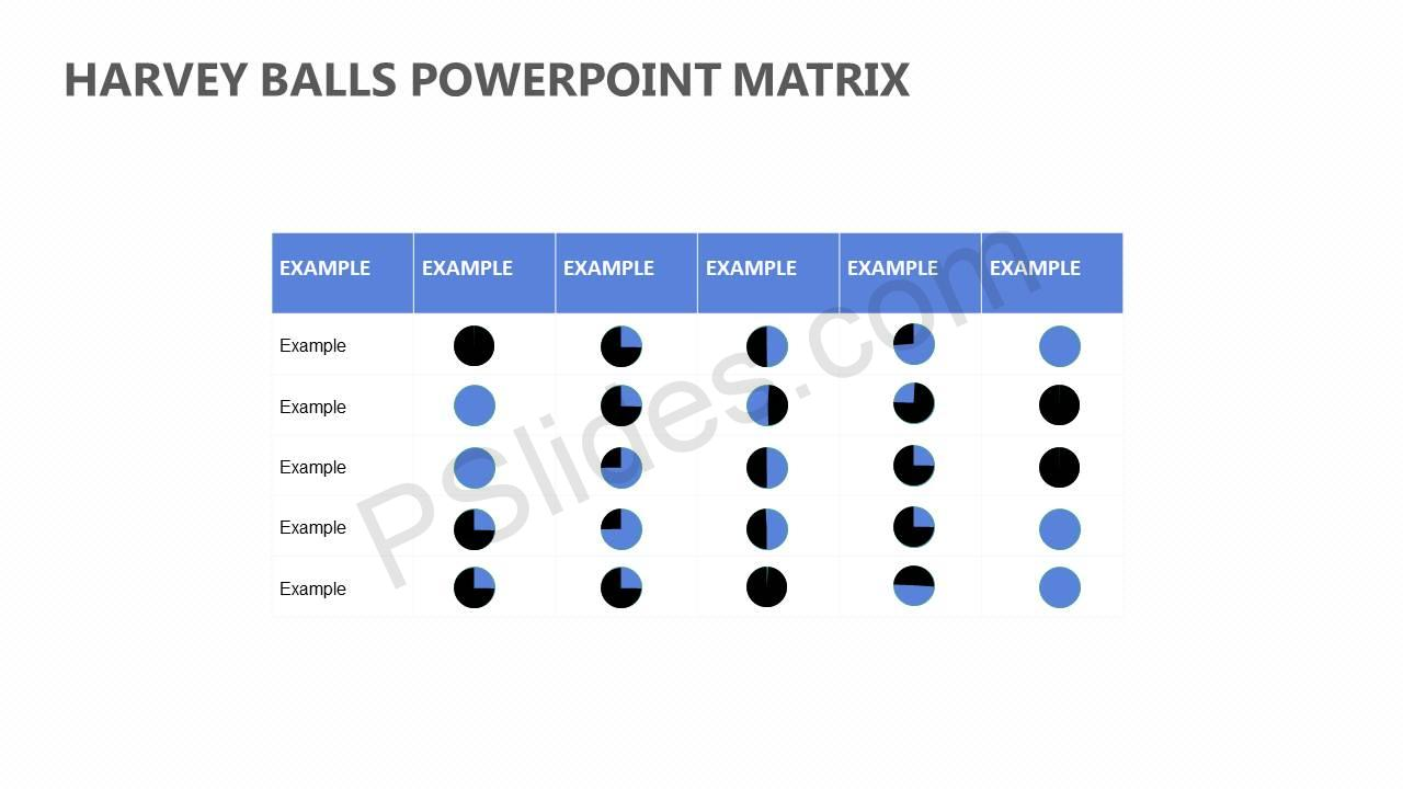 Harvey-Balls-PowerPoint-Matrix-Slide1