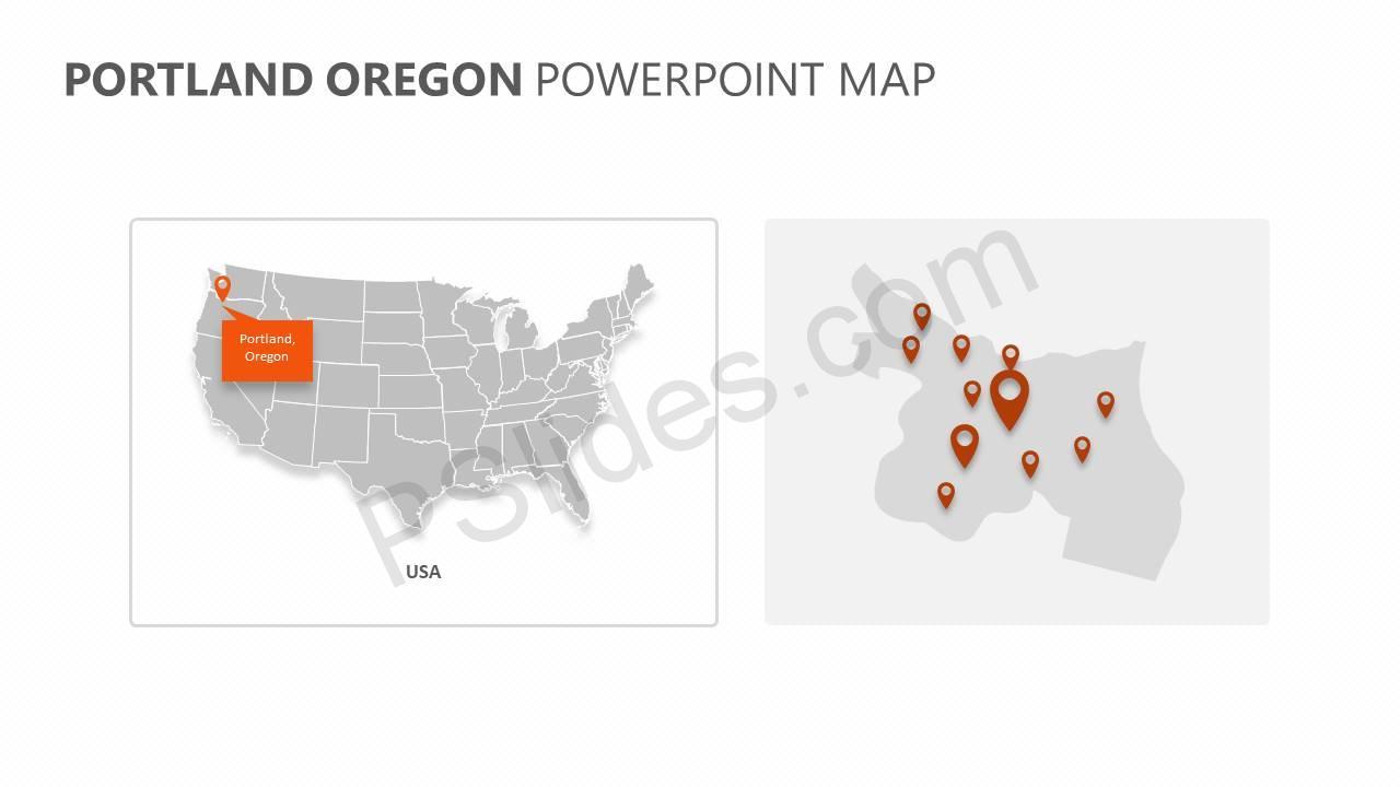 Portland-Oregon-PowerPoint-Map-Slide1