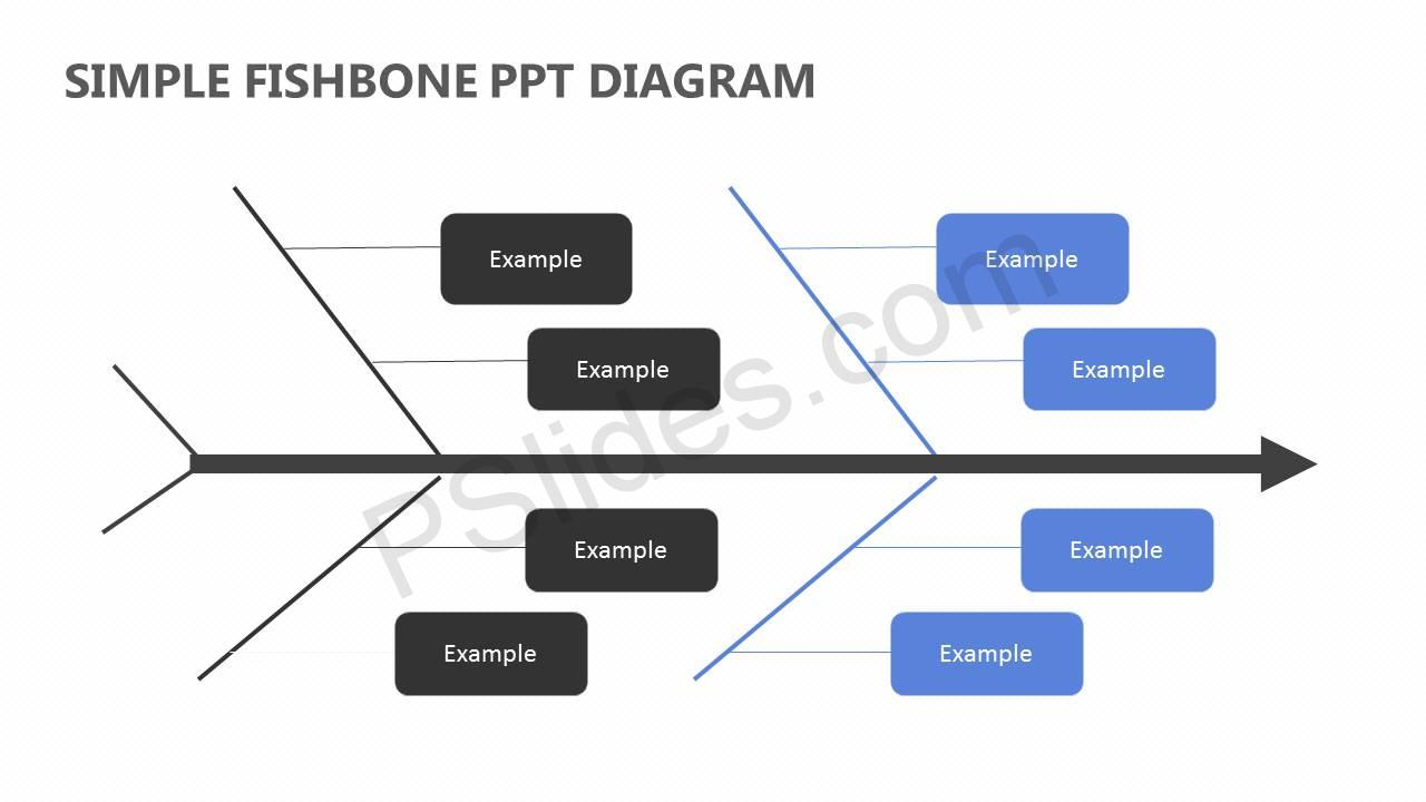 Simple-Fishbone-PPT-Diagram-Slide1