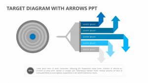 Target Diagram with Arrows PPT