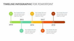 Timeline Infographic PowerPoint Timeline