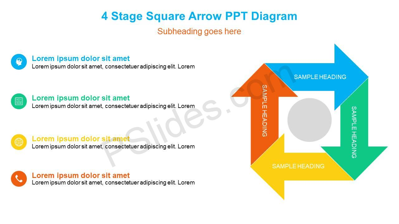 4-Stage-Square-Arrow-PPT-Diagram-Slide1