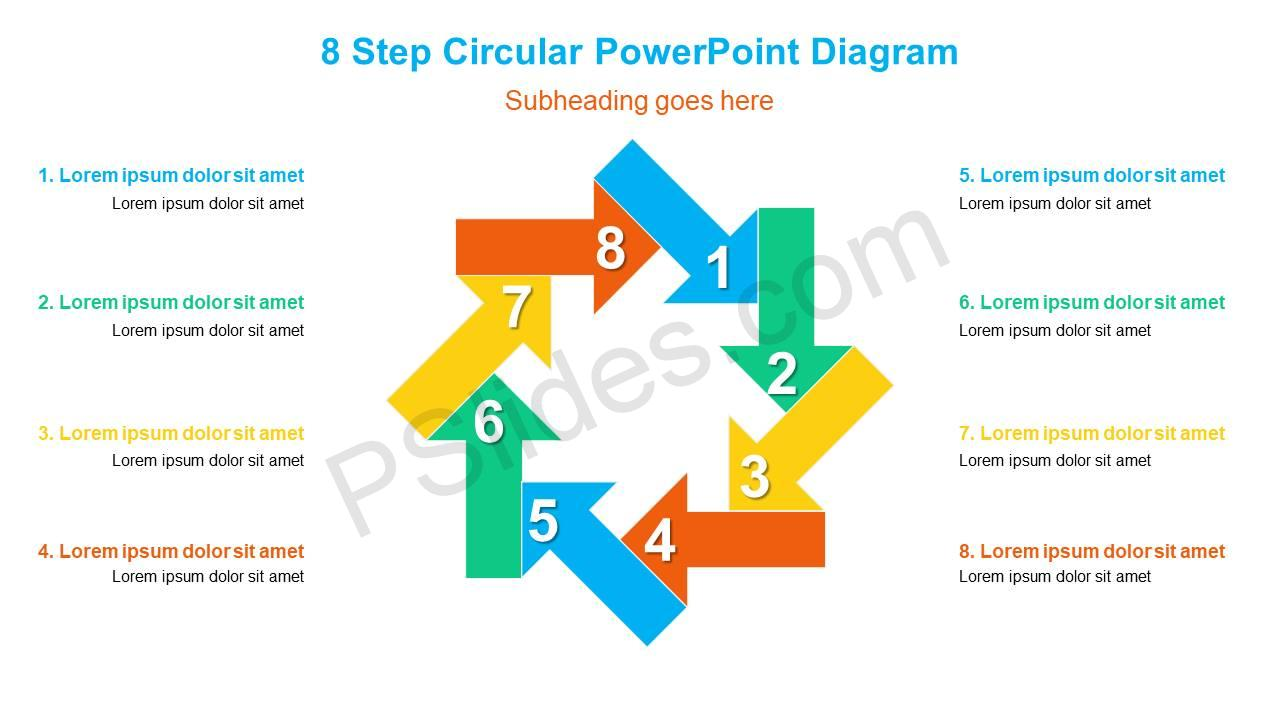 8-Step-Circular-PowerPoint-Diagram-Slide1