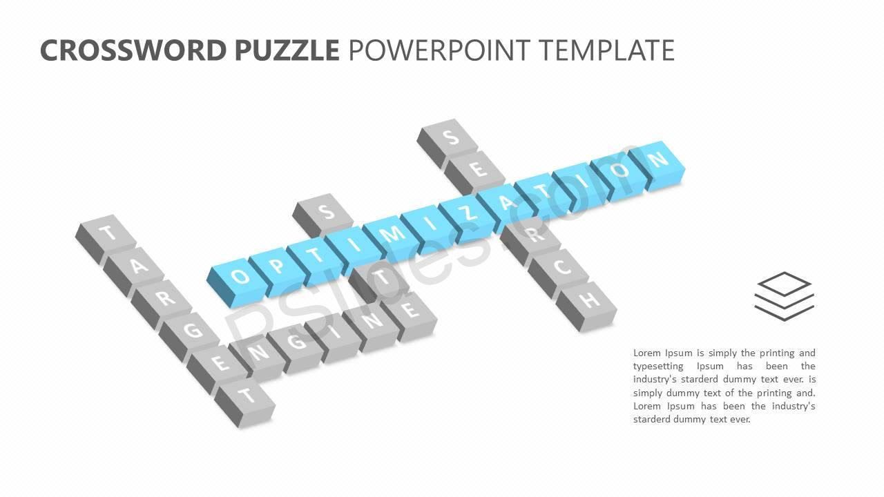 Crossword Puzzle PowerPoint Template Slide3