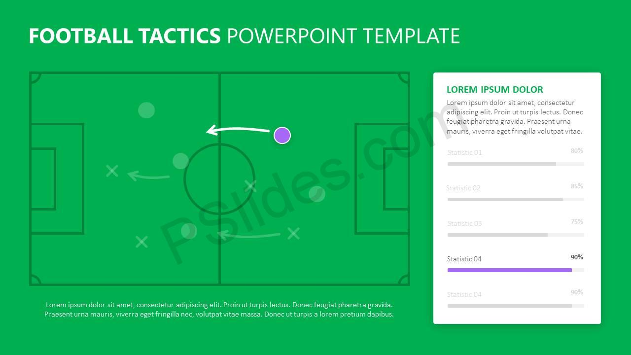 Football Tactics PowerPoint Template Slide2