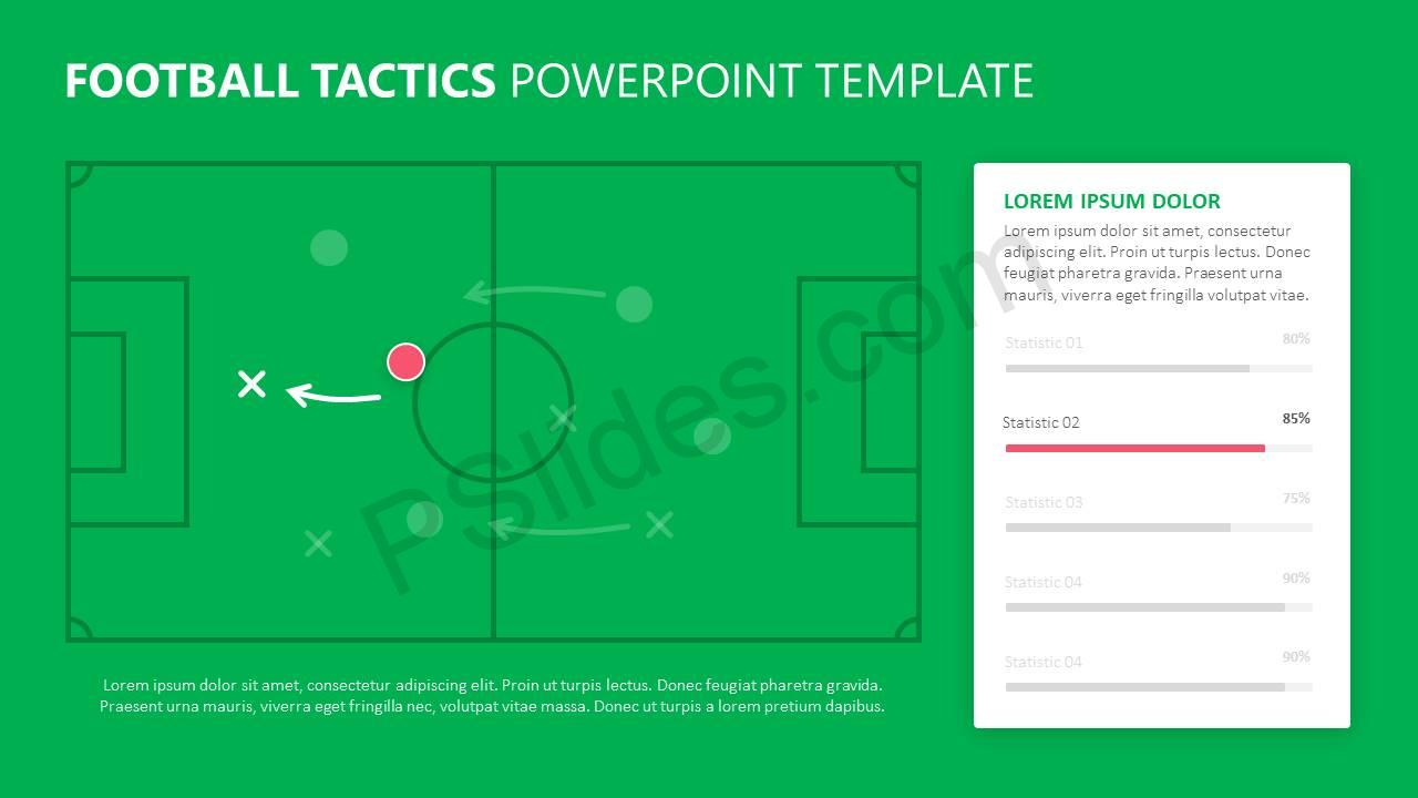 Football Tactics PowerPoint Template Slide3