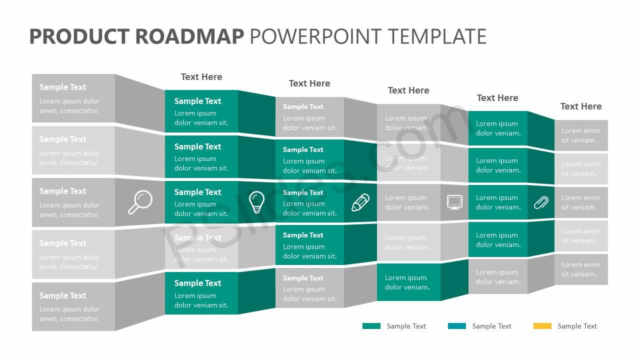 Product Roadmap Powerpoint Template Pslides