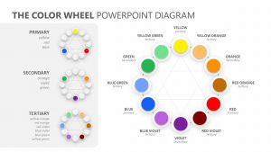 The Color Wheel PowerPoint Diagram