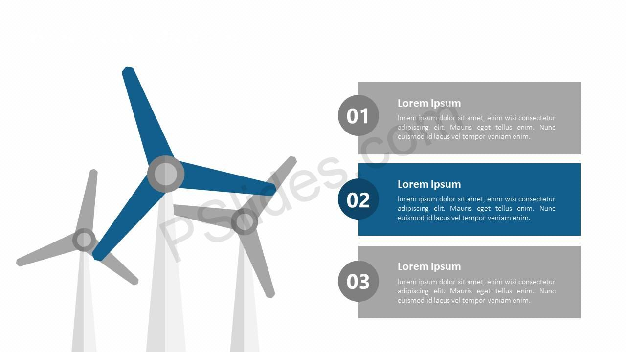 Wind Power Diagram for PowerPoint Slide2
