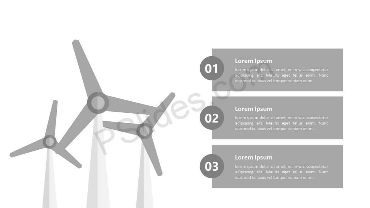 Wind Power Diagram for PowerPoint Slide3