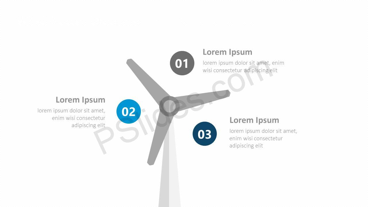 Wind Power Diagram for PowerPoint Slide5