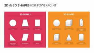 2D & 3D Shapes for PowerPoint