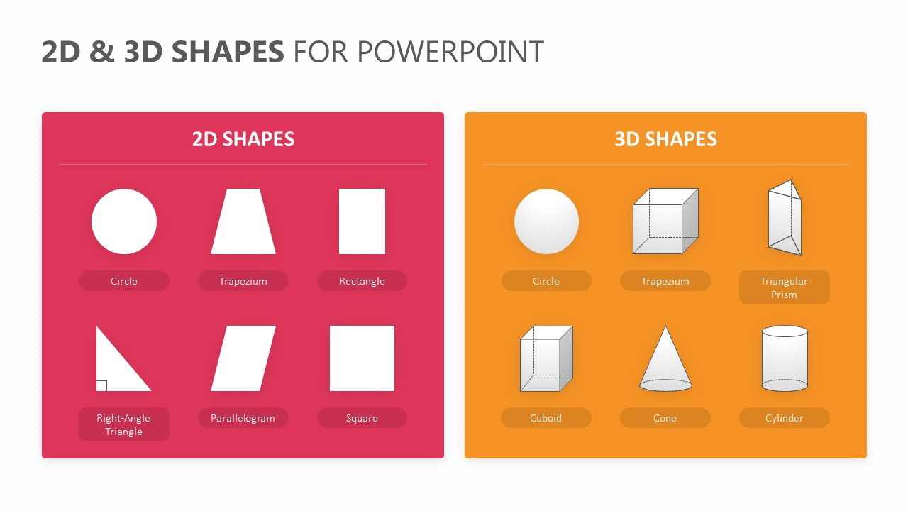 2D & 3D Shapes for PowerPoint (1)
