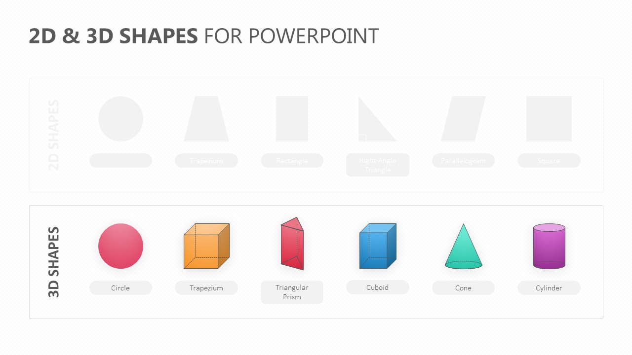 2D & 3D Shapes for PowerPoint (2)
