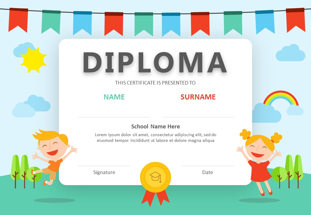 Diploma PowerPoint Certificate