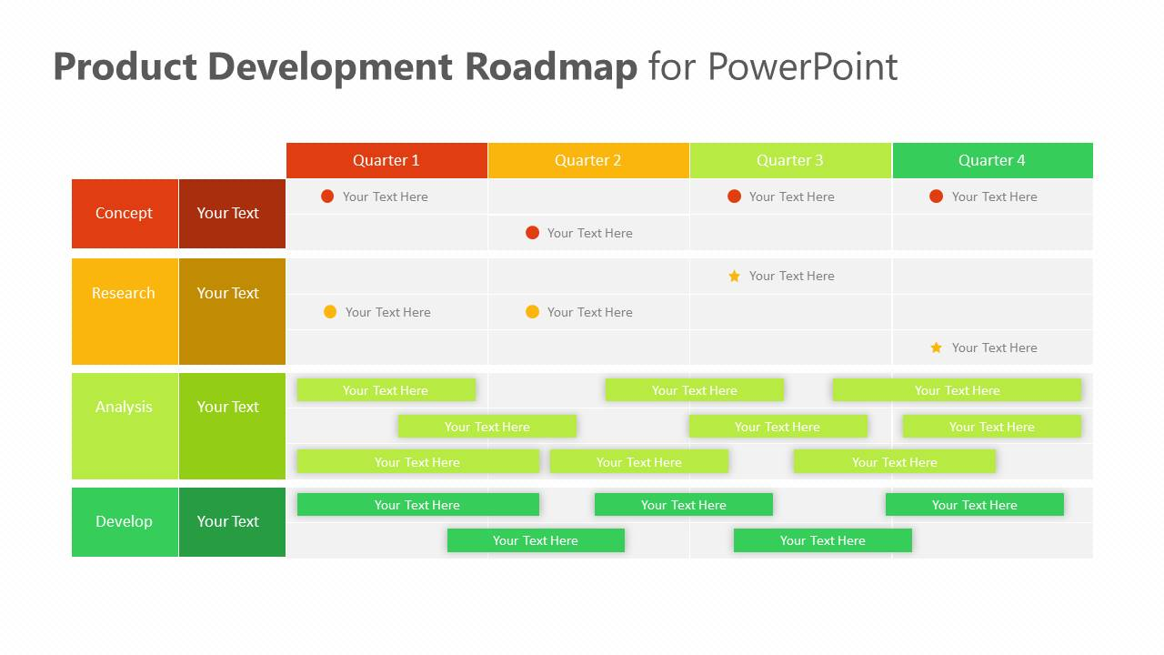 Product Development Roadmap for PowerPoint Slide4