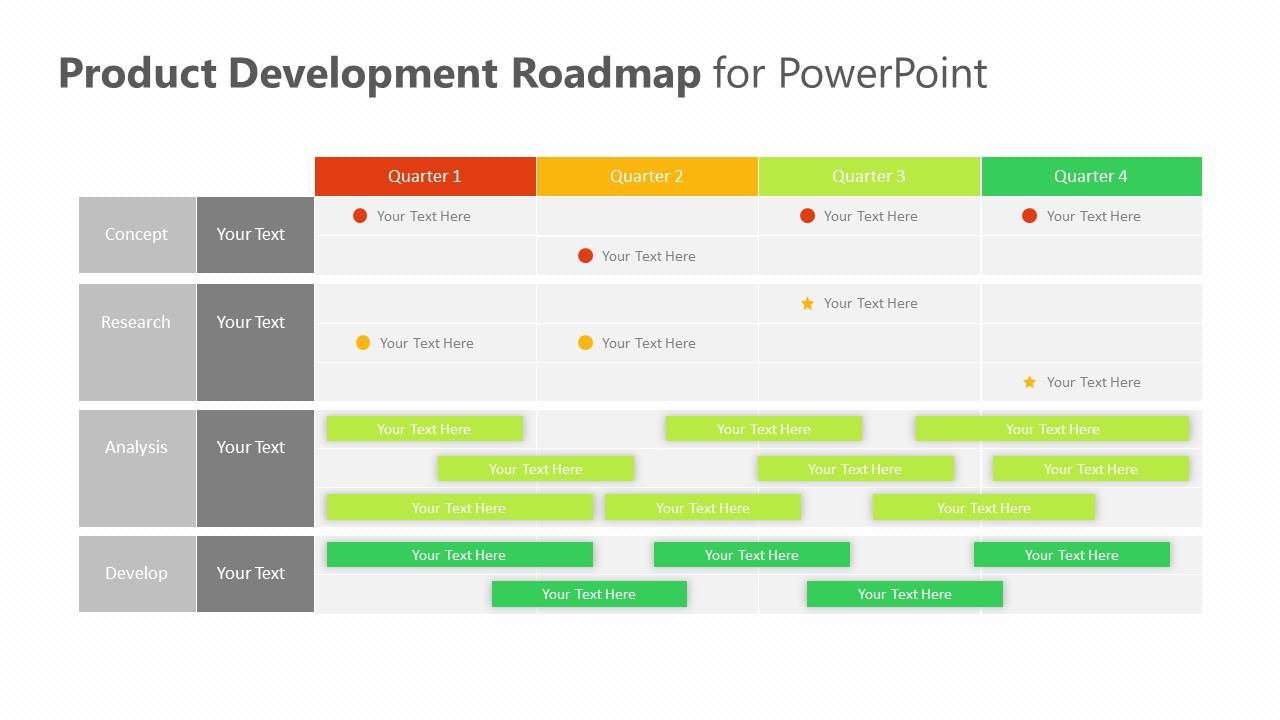 Product Development Roadmap for PowerPoint Slide5