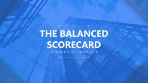 The Balanced Scorecard PowerPoint Template