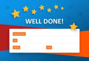 Well Done Certificate for PowerPoint