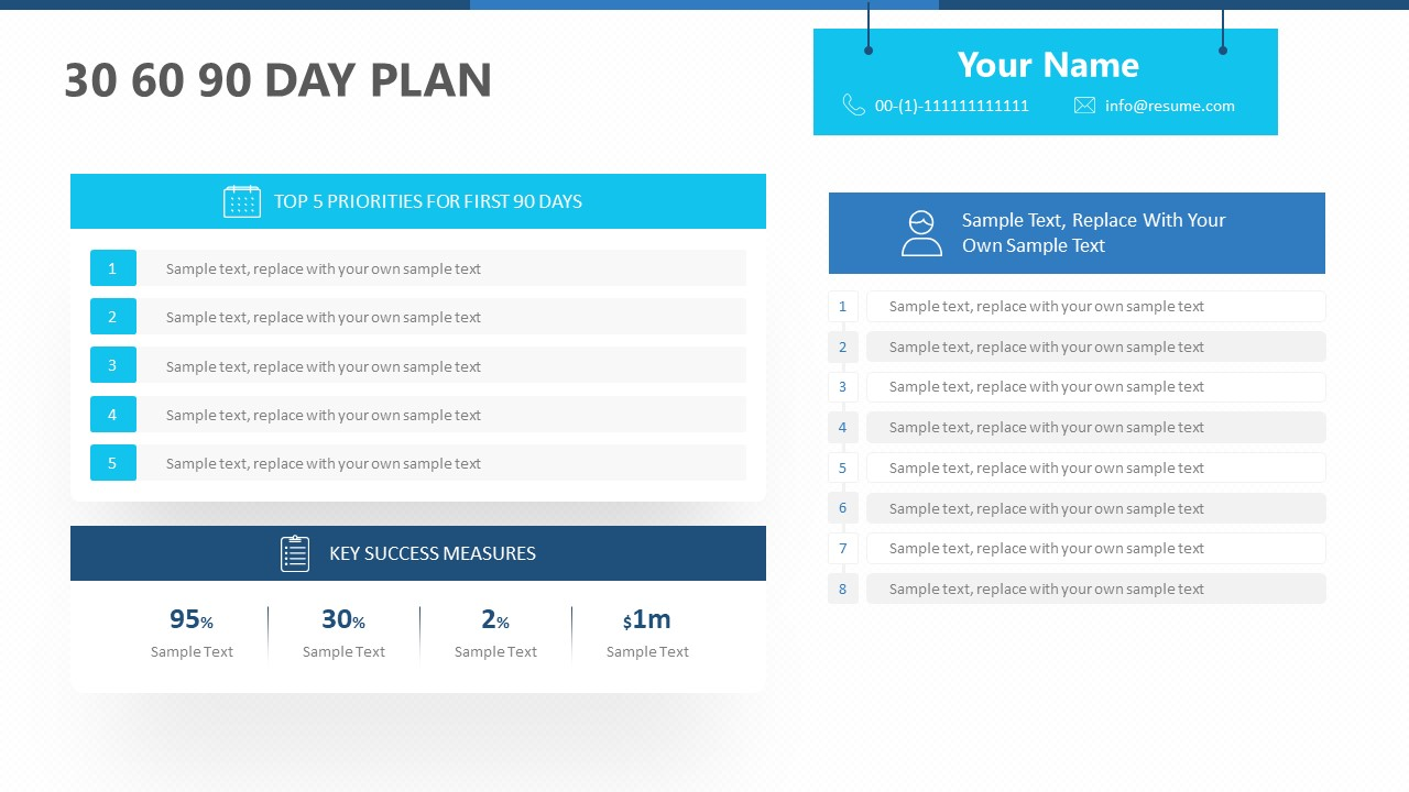 30 60 90 Day Plan for PowerPoint (1)