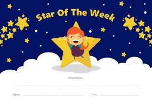 Star of the Week PowerPoint Certificate