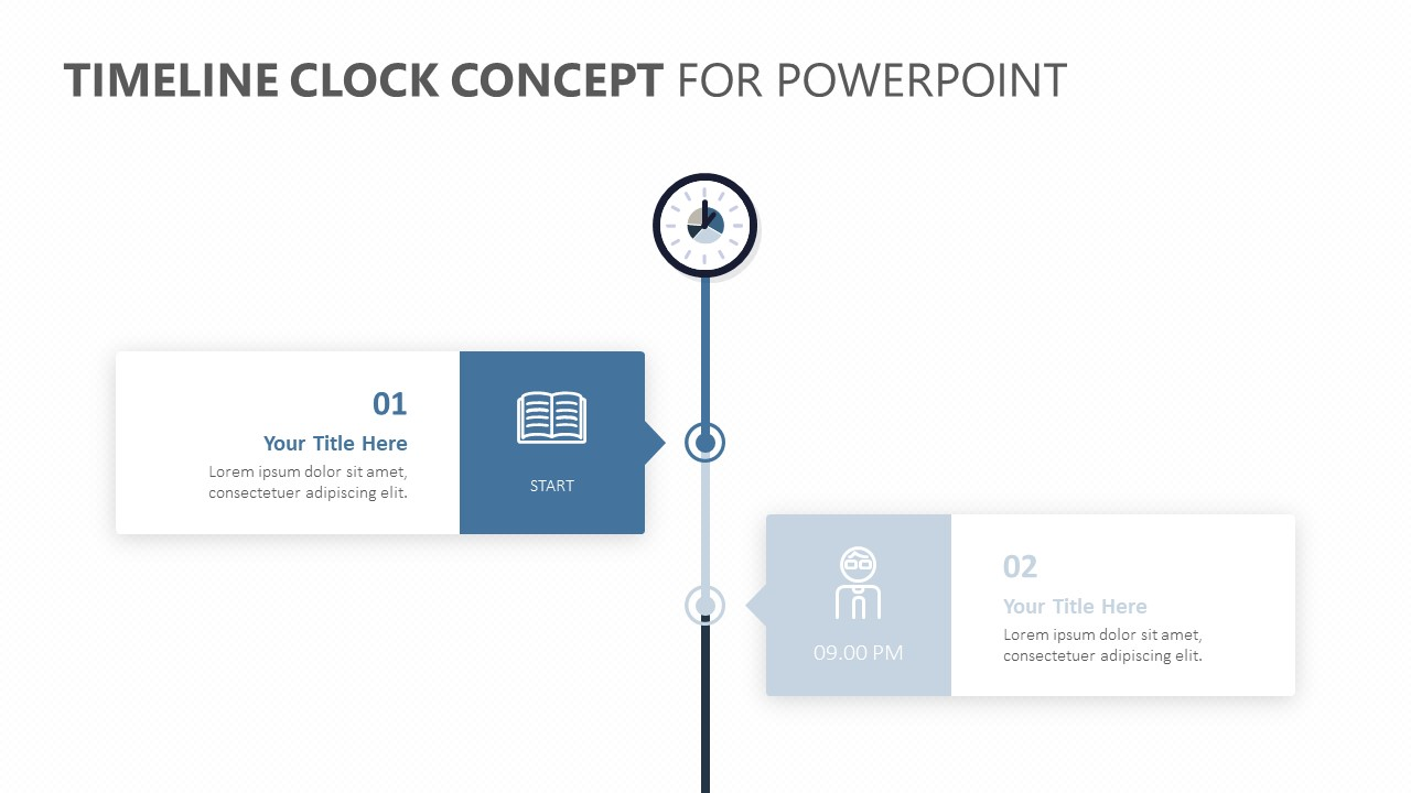 Timeline Clock Concept for PowerPoint (1)