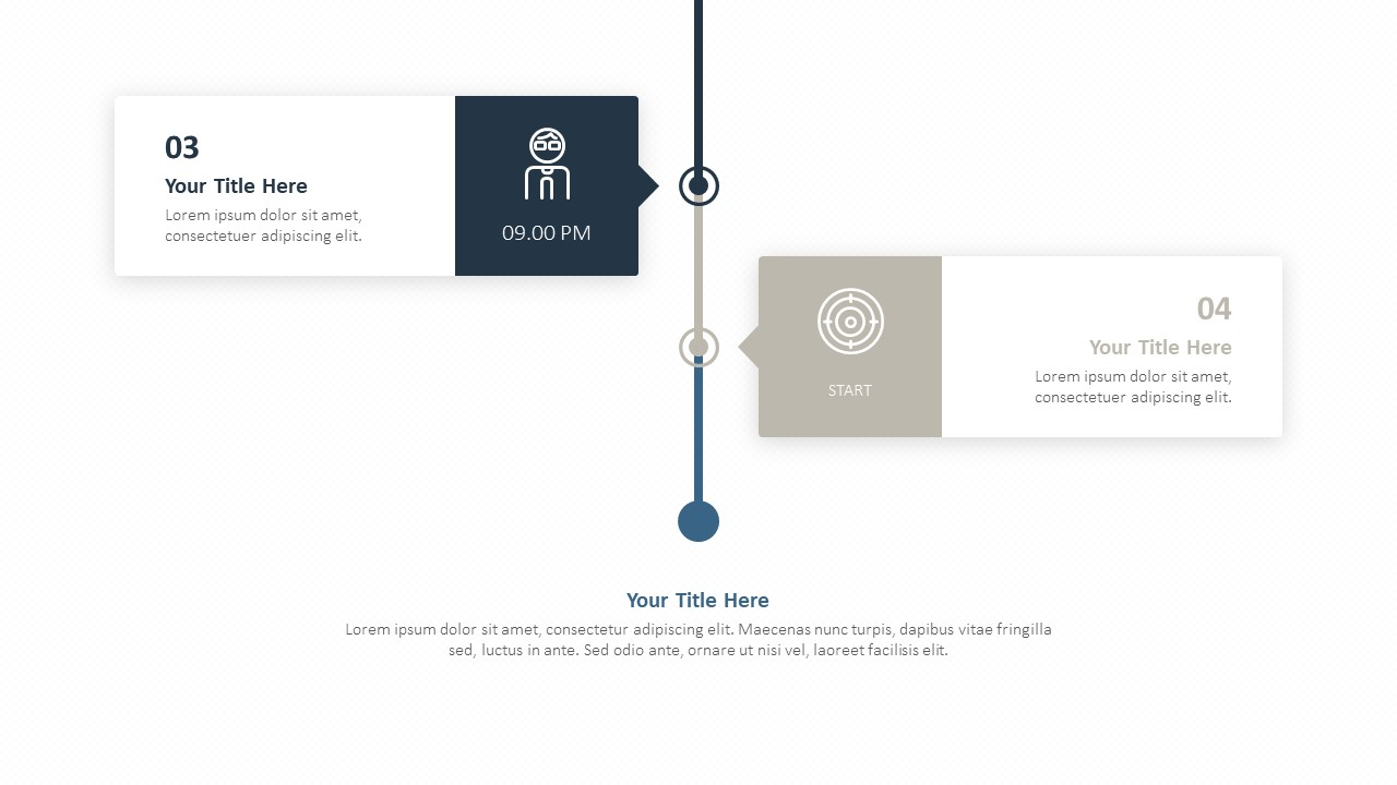 Timeline Clock Concept for PowerPoint (2)