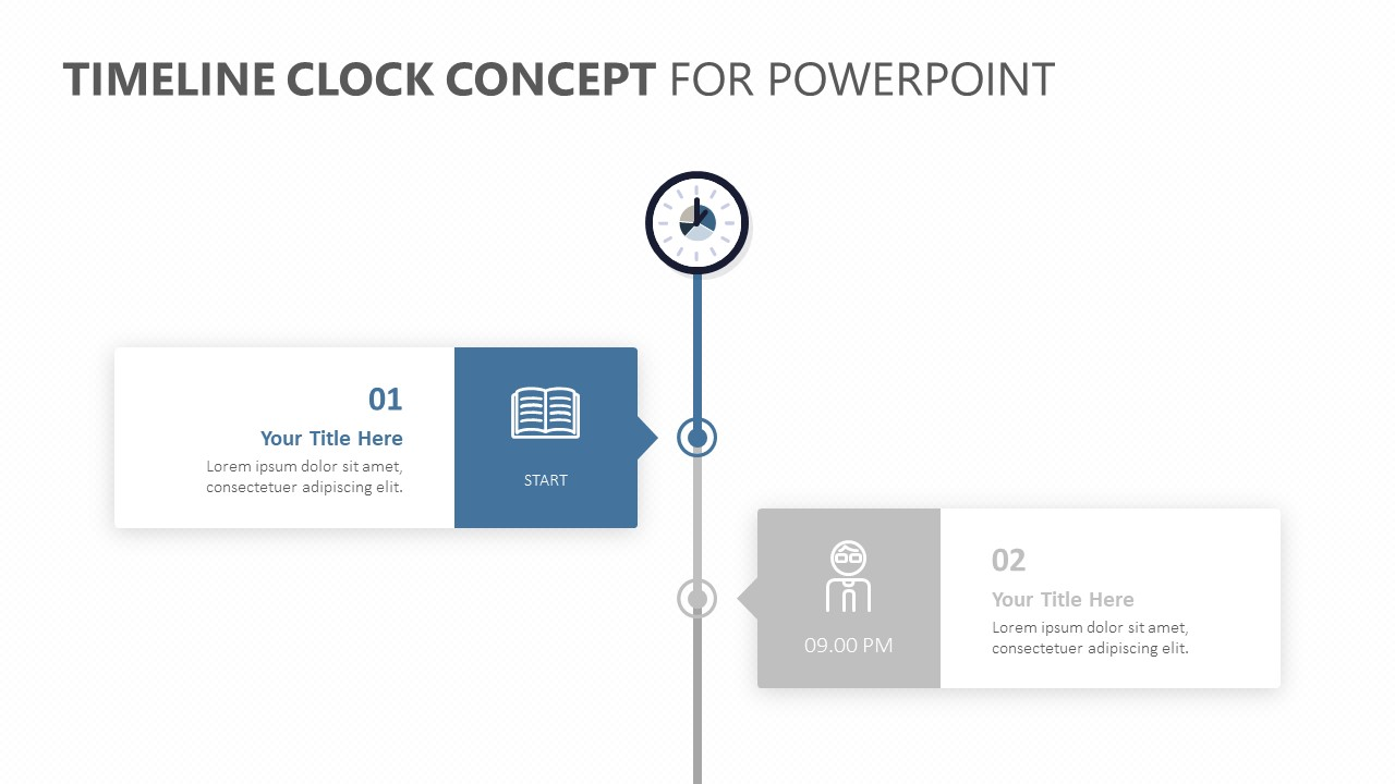 Timeline Clock Concept for PowerPoint (3)