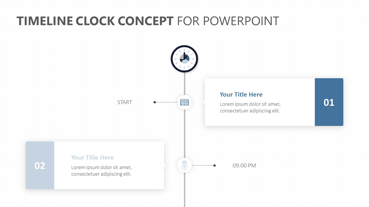 Timeline Clock Concept for PowerPoint (4)