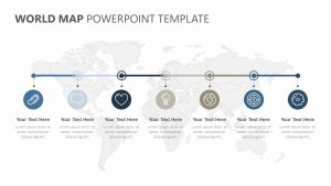 World PowerPoint Timeline