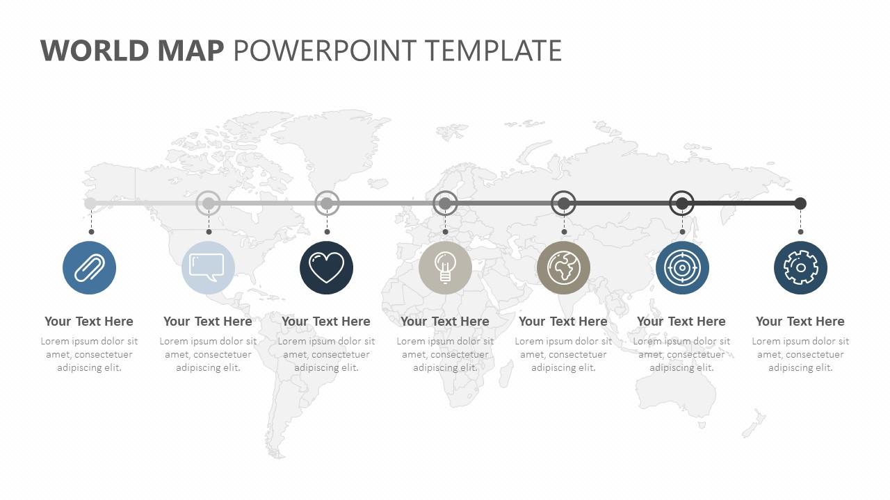 World PowerPoint Timeline (3)