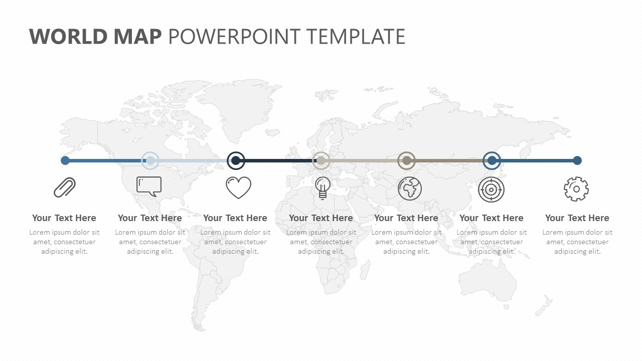 World PowerPoint Timeline (4)