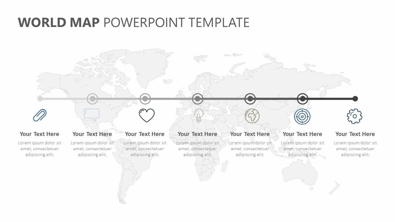 World PowerPoint Timeline (5)