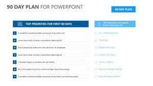 90 Day Plan for PowerPoint