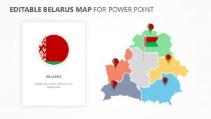 Belarus PowerPoint Map